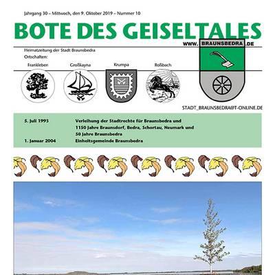 Heimatzeitung - Geiseltalbote